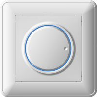 Диммер W59 светорегулятор бел.  600 Вт
