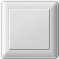 Переключатель W59 одноклавишный бел.